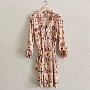 Anthropologie Dolan Wanderlust Aztec Print Dress